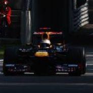 Sebastian Vettel en Monza, en 2012