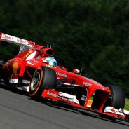 Fernando Alonso en Spa-Francorchamps