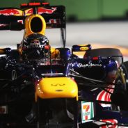 Sebastian Vettel en la Singapore Sling