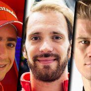Esteban Gutiérrez, Jean-Éric Vergne y Nico Hülkenberg - LaF1