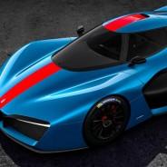 La silueta del Pininfarina H2 Speed recuerda a los prototipos de Le Mans - SoyMotor