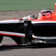 Max Chilton durante los tests de Baréin - LaF1