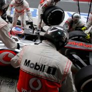Pit stop de Jenson Button en la India - LaF1