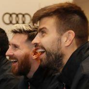 La plantilla del FC Barcelona en el acto de Audi - SoyMotor.com
