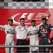 Podio del Gran Premio de Estados Unidos - LaF1