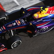 Mark Webber al volante del Red Bull en Abu Dabi - LaF1