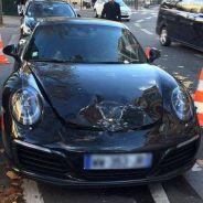 Frontal del Porsche 911 Carrera S destrozado - SoyMotor.com