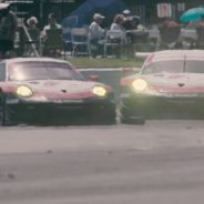Un Porsche 911 RSR a cámara lenta en Sebring