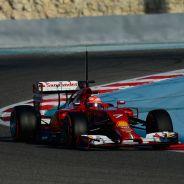 Kimi Räikkönen durante los tests de Baréin - LaF1