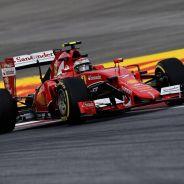 Kimi Raikkonen rodando en Austria - LaF1.es