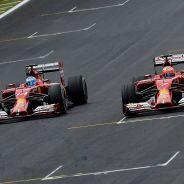 Fernando Alonso y Kimi Räikkönen, en Brasil - LaF1