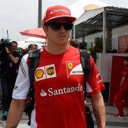 Kimi Räikkönen en el paddock de Sao Paulo - LaF1