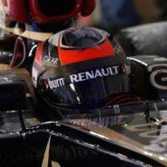 Kimi Räikkönen llega al parque cerrado de Marina Bay - LaF1