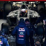 Daniel Ricciardo en los test de Montmeló - LaF1