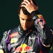 Daniel Ricciardo en el podio de Australia - LaF1