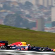 El Red Bull RB8 en el GP de Brasil 2012 en Interlagos