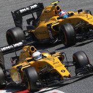 Kevin Magnussen y Jolyon Palmer en una imagen de archivo - LaF1