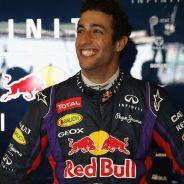 Daniel Ricciardo en los test de Silverstone