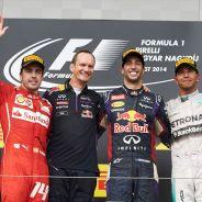 Podio del Gran Premio de Hungría - LaF1