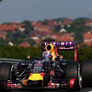Daniel Ricciardo con el RB11 en Hungría - LaF1