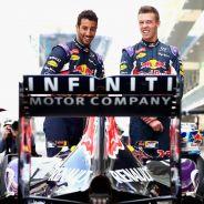Ricciardo y Kvyat han demostrado llevarse bien y trabajar juntos a la perfección - LaF1