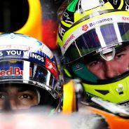 Daniel Ricciardo y Sergio Pérez - LaF1