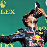 Ricciardo estuvo muy contento con su resultado en el podio - LaF1