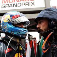Daniel Ricciardo en la parrilla de Mónaco - laF1