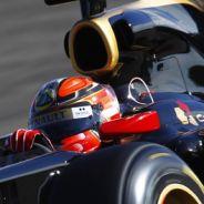 Robert Kubica antes de sufrir su grave accidente en febrero de 2011