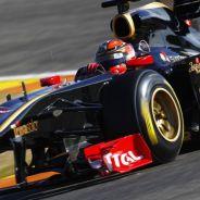 Robert Kubica durante la pretemporada 2011 con Lotus - LaF1