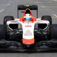 Roberto Merhi en la parrilla de salida de Canadá - LaF1