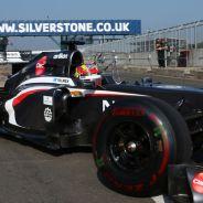 Robin Frijns en los tests de jóvenes pilotos - LaF1