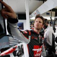 Grosjean sorprende a Steiner - LaF1