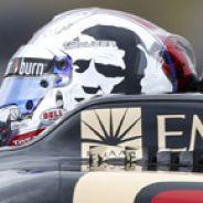 Romain Grosjean en el Lotus E21 - LaF1
