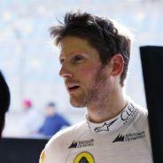 Grosjean pierde la paciencia ante el mal rendimiento del Lotus - LaF1