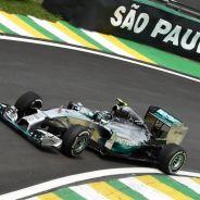 Nico Rosberg, hoy en Interlagos - LaF1