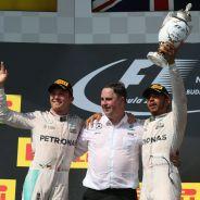 Rosberg ha perdido 50 puntos frente a Hamilton desde Mónaco - LaF1