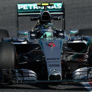 Nico Rosberg, hoy en Montmeló - LaF1