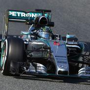 Nico Rosberg en Montmeló - LaF1