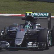 Rosberg fue el más rápido desde el inicio de la sesión - LaF1