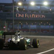 Mercedes sufrió el año pasado en Singapur - LaF1