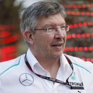 Ross Brawn durante su etapa como jefe del equipo Mercedes - LaF1
