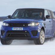 Las 'S' de Becketts en hielo son un reto que el Range Rover Sport SVR puede superar - SoyMotor
