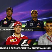 Rueda de prensa de pilotos en Alemania - LaF1