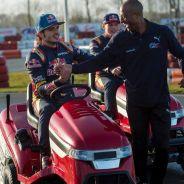 Carlos Sainz, Max Verstappen y Colin Jackson - Laf1