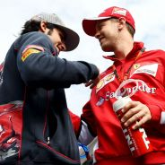 Carlos Sainz y Sebastian Vettel en Sochi - LaF1