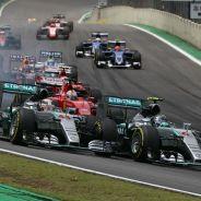 Rosberg volvió a batir a Hamilton en Brasil - LaF1
