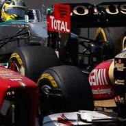Salida del GP de Hungría F1 2012 - LaF1