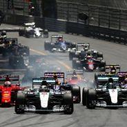 Salida del GP de Mónaco - LaF1