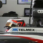 Nico Hülkenberg con el Sauber-Ferrari C32